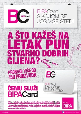 Bipa katalog BipaCard
