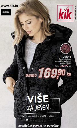 KiK katalog Više za jesen