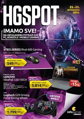 HGSpot katalog Reboot Infogamer