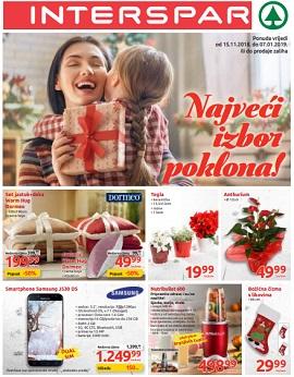 Interspar katalog Pokloni