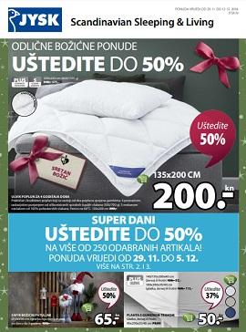 Jysk katalog Božićne ponude
