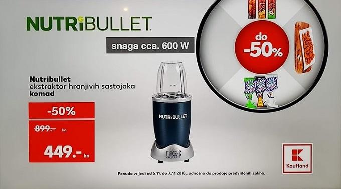 Kaufland akcija Nutribulet
