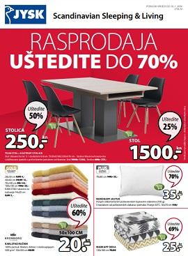 JYSK katalog Rsprodaja do -70%