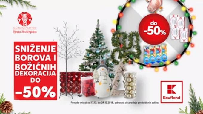Kaufland akcija božićne dekoracije