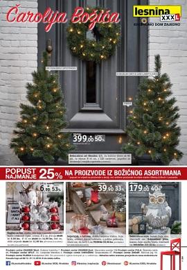 Lesnina katalog Čarolija Božića