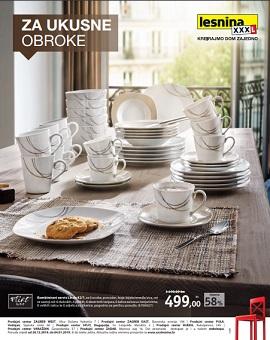 Lesnina katalog Servis za jelo