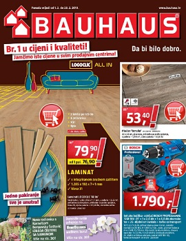 Bauhaus katalog veljača