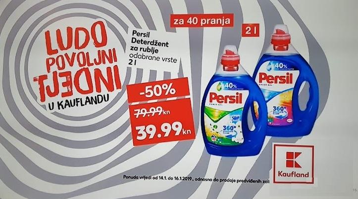 Kaufland akcija Persil