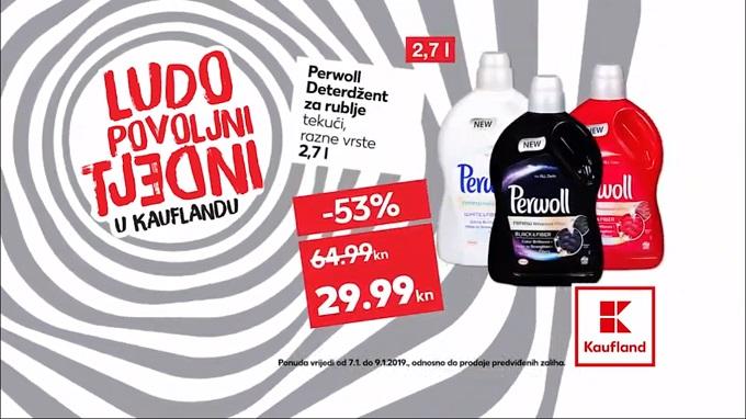 Kaufland akcija Perwoll