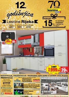 Lesnina katalog Rijeka godišnjica