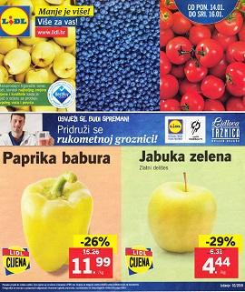 Lidl katalog tržnica