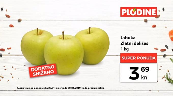 Plodine akcija jabuke