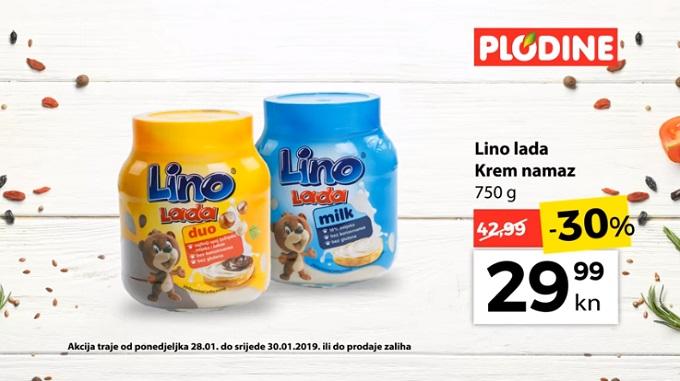 Plodine akcija Lino lada