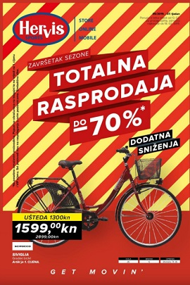 Hervis katalog Totalna rasprodaja do 18.2.