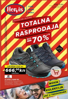Hervis katalog Totalna rasprodaja do 25.2.
