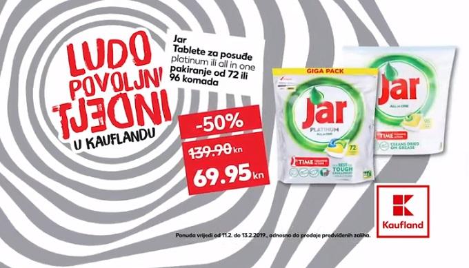 Kaufland akcija Jar tablete