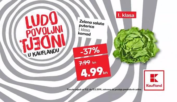 Kaufland akcija salata