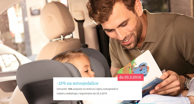 Baby center akcija autosjedalice