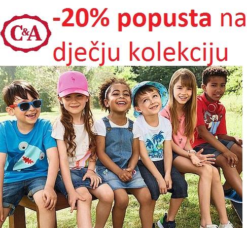 C&A akcija dječja kolekcija