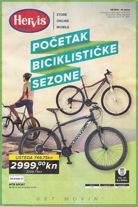 Hervis katalog Početak biciklističke sezone