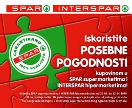 Interspar kuponi Spar proizvodi