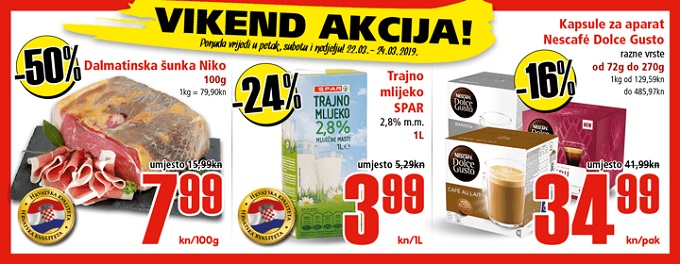 Interspar vikend akcija