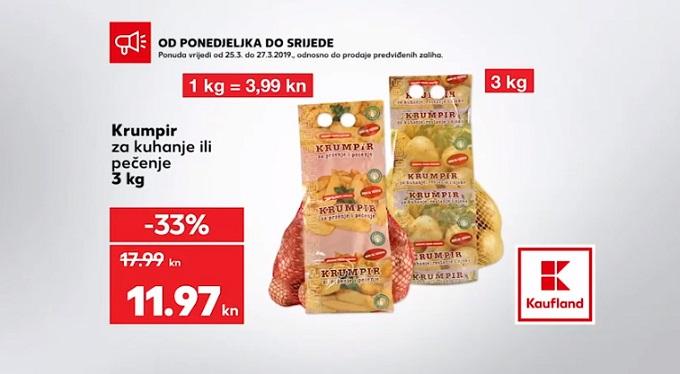 Kaufland akcija krumpir