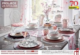 Lesnina katalog Proljeće za stolom