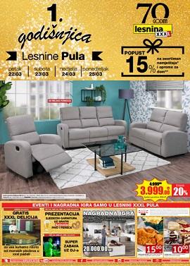 Lesnina katalog Pula