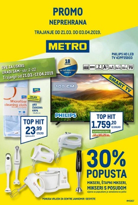 Metro Katalog Neprehrana Do 3 4
