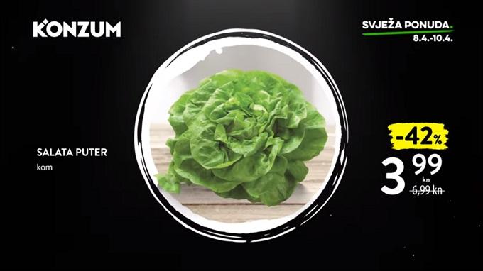 Konzum akcija salata