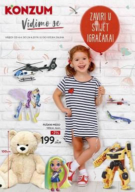Konzum katalog igračke