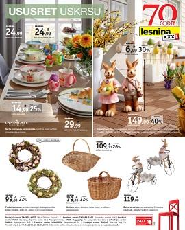 Lesnina katalog Ususret Uskrsu