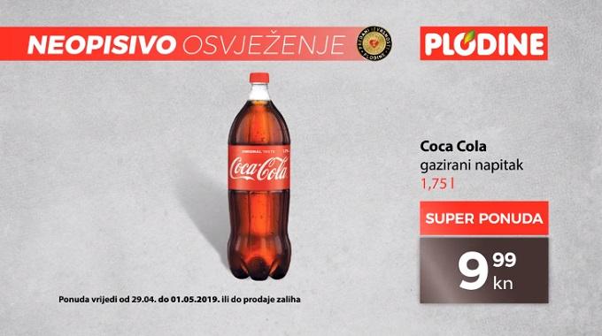 Plodine akcija Coca Cola