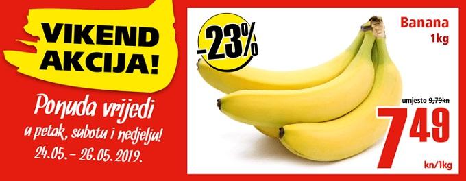 Interspar akcija banane