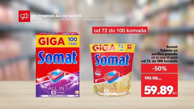 Kaufland akcija Somat tablete