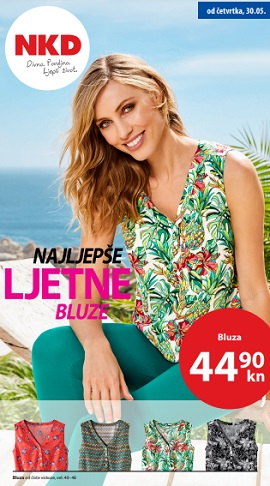 NKD katalog Najljepše ljetne bluze
