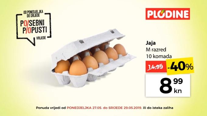 Plodine akcija jaja