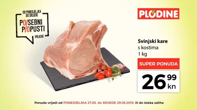 Plodine akcija svinjski kare
