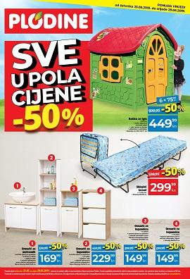 Plodine katalog Sve u pola cijene do 29.5.