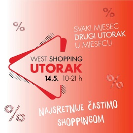 West Gate Shopping utorak