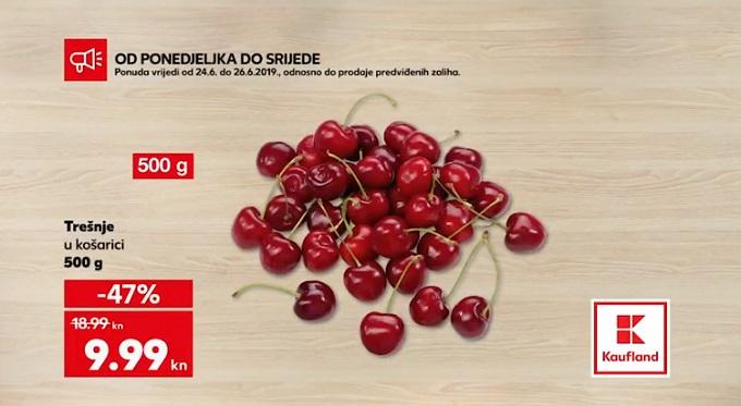 Kaufland akcija trešnje