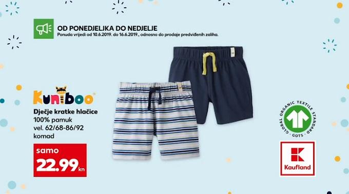 Kaufland dječje kratke hlače