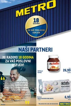 Metro katalog Partneri prehrana