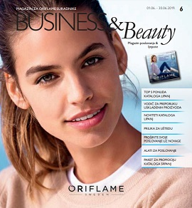 Oriflame katalog Business & Beauty