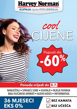 Harvey Norman katalog Cool cijene