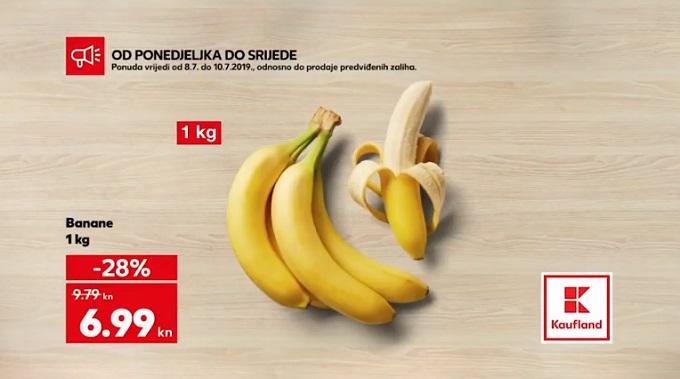Kaufland akcija banane