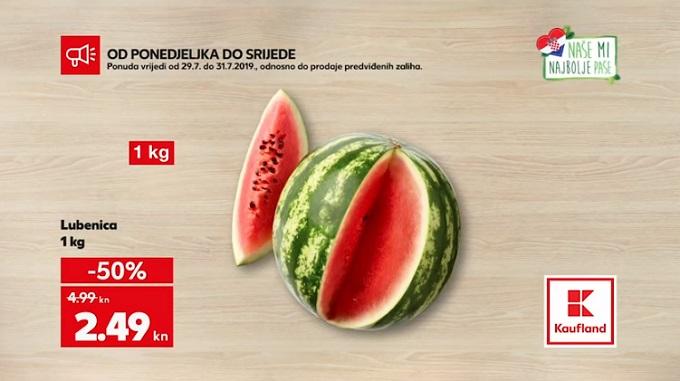 Kaufland akcija lubenica