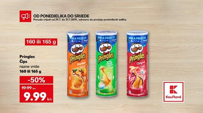 Kaufland akcija Pringles