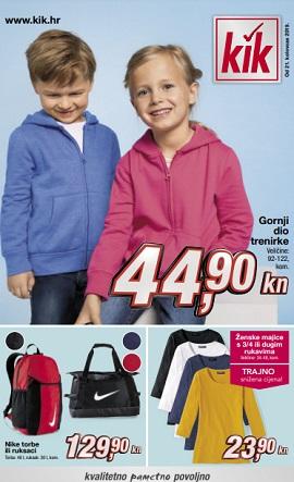 KiK katalog Jesen